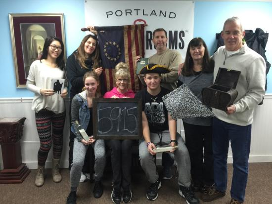 Portland Escape Room Kidnapped