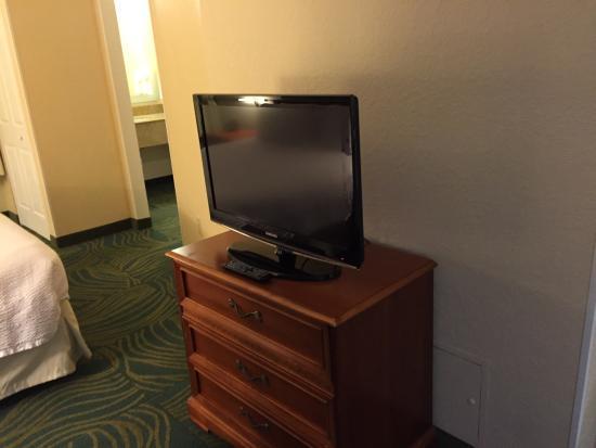 SpringHill Suites Orlando Airport: tv
