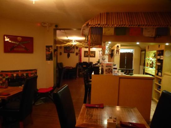 gurkha himalayan kitchen inside the restaurant - Himalayan Kitchen