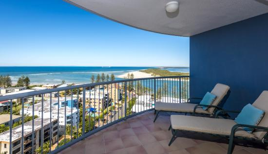 Centrepoint Holiday Apartments: Outlook from 2 bed apartment
