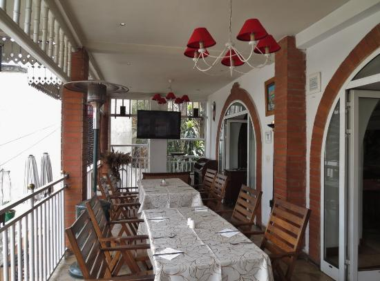 Hotel Brajas: 朝食スペース