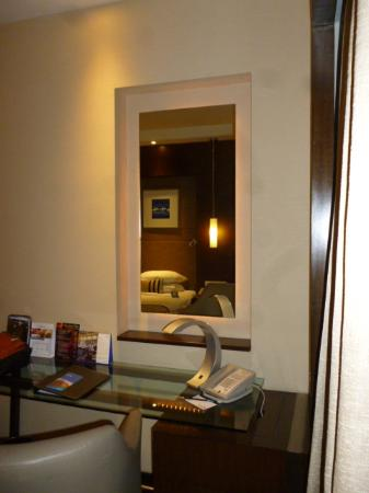 ラディソンホテルの部屋の内部