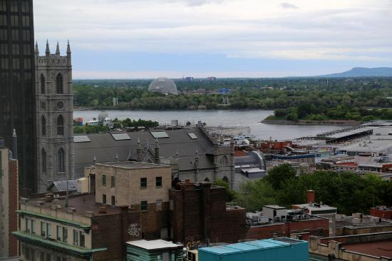 InterContinental Montreal: view