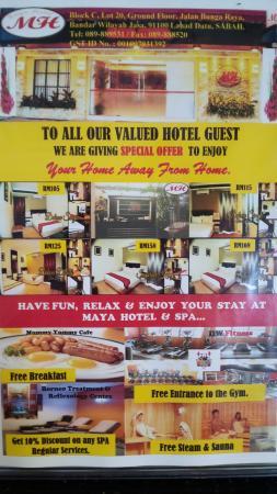 Lahad Datu, ماليزيا: Maya Hotel & Spa