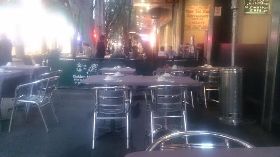 Outdoor Seating - Picture of Golden Harbour Restaurant, Sydney