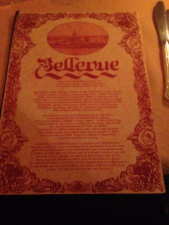 Bellevue: la carte