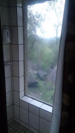 Gravelotte, Sudáfrica: View from shower