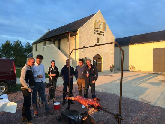 La Roche-Clermault, Frankrijk: Fête de la bernache