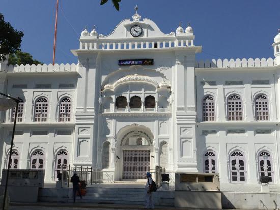 Punjab, Inde : Front view