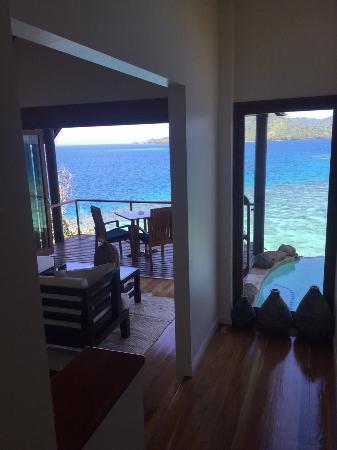 เกาะ Royal Davui Island, ฟิจิ: 房內景觀