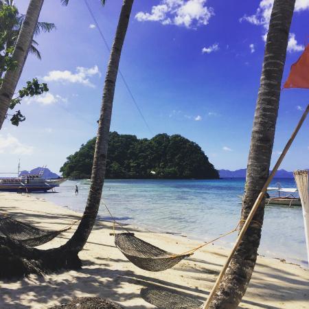 Orange Pearl Beach Resort Vue De La Chambre Et Son Hamac