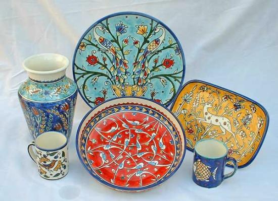 Jerusalem Pottery Hagop Karakashian