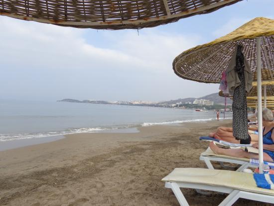 Sentinus Beach Hotel: пляж отеля