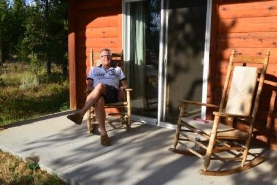Headwaters Lodge U0026 Cabins At Flagg Ranch: Erholung Und Warten Auf  Sonnenuntergang