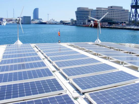 Placas solares eco slim picture of bcnaval tours for Placas solares barcelona