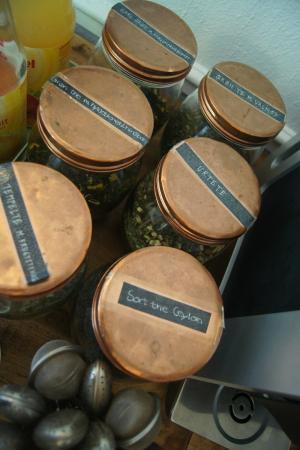 AARHUS Guldsmeden Hotel: Organic tea