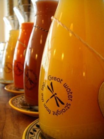 AARHUS Guldsmeden Hotel: Juice
