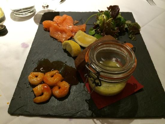 Newent, UK: Seafood Starter to Share