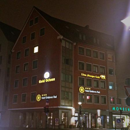 City Partner Hotel Goldenes Rad : Вечером