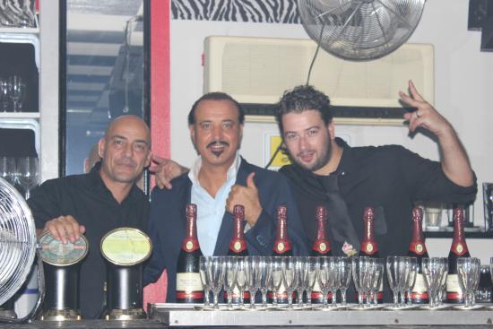 Bobo Cuba Libre: Luca, Bobo, Francesco