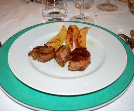Camiano Piccolo: filetto di maiale