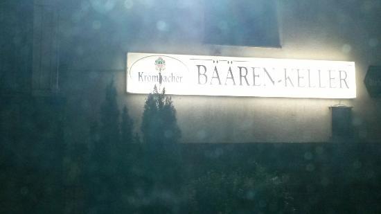 Gaststatte Barenkeller