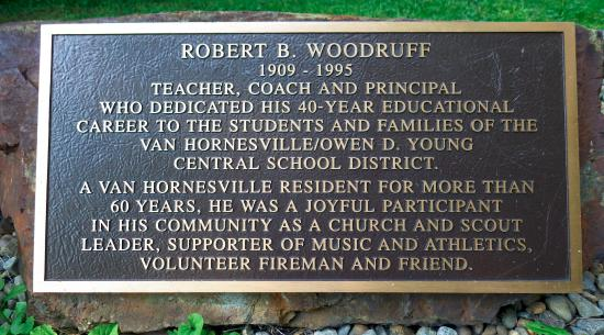 Van Hornesville, NY: Bob Woodruff - must have been quite a guy!
