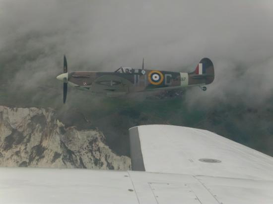 Action Stations Charley Brown, Fly with a Spitfire, Paul Davies