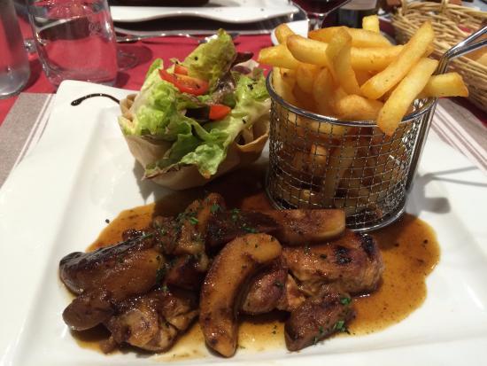 Saint-Martin-d'Ablois, France : Filet mignon porc