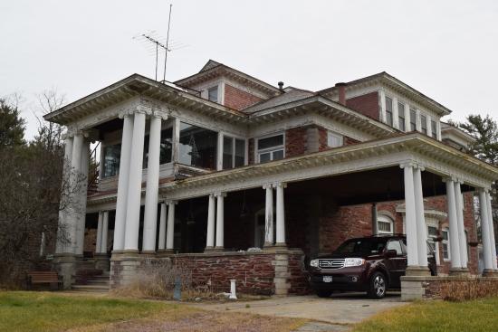 Granville, NY: Sheldon Mansion - Dec. 2015