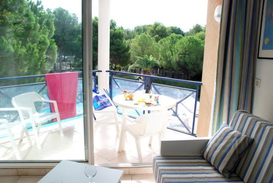 Residence & Hotel Arcadius : Studio 2 ou cabine 4 côté pinède