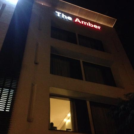 The Amber - New Delhi: front view of place