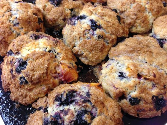 Westport, MA: Homemade Blueberry Muffins