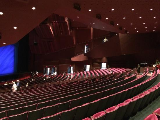 an experience at a musical show boat at the orange county performing arts center Derek jeter's home in orange county,  as well as pool and boat  a variety of artists will be performing at the prudential center in newark for the rest of.