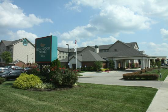 Homewood Suites by Hilton Lexington - Hamburg: Front Hotel