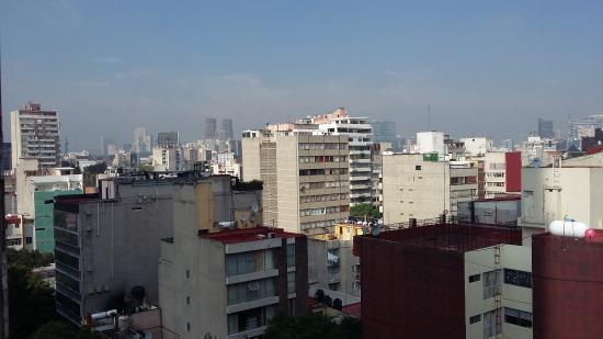 Hotel Del Angel: vista desde la habitacion