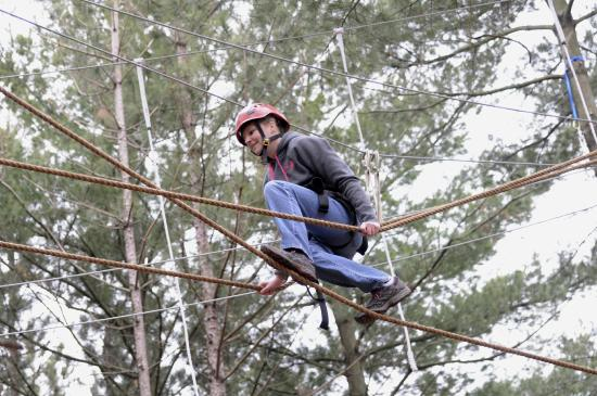 Lake Geneva Canopy Tours Challenge Yourself On The High Ropes Course