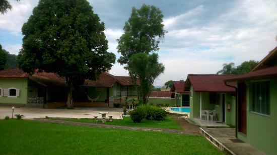 Pousada da Praca: área da piscina, e administrativo