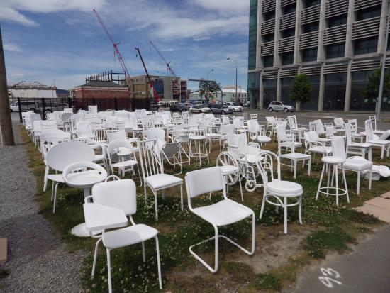 The Chairs Picture Of 185 Empty White Chairs