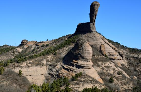 Chengde Qingchui Mountain (Hammer Rock)
