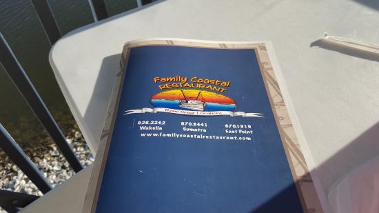 Eastpoint, FL: Family Coastal Restaurant