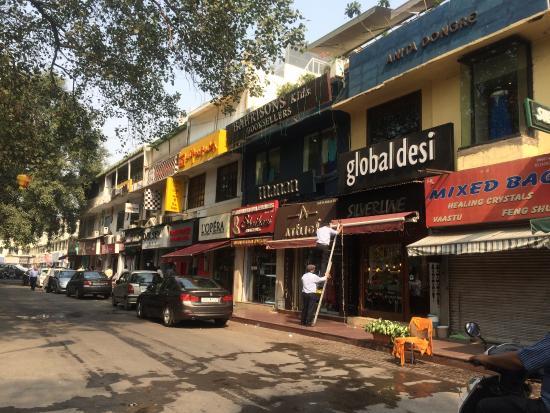 Hauz Khas Market