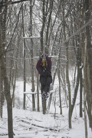 Lake Geneva Canopy Tours Birds fly south for the winter - People Zip Line! & Birds fly south for the winter - People Zip Line! - Picture of ...