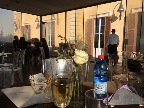 Caffè Capitolino, Roma - Picture of Terrazza Caffarelli, Rome ...