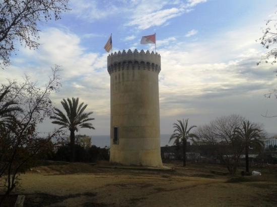 Sant Vicenc de Montalt, Spanien: Vista torre