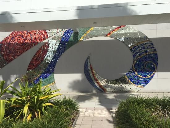 The gift shop picture of tampa museum of art tampa tripadvisor tampa museum of art on the north wall a beautiful mosaic negle Gallery