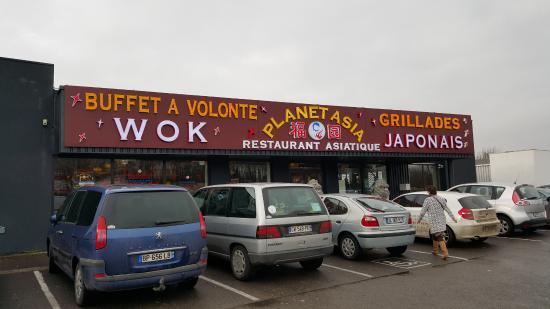 Planet asia 2 longueau restaurant avis num ro de for Restaurant longueau