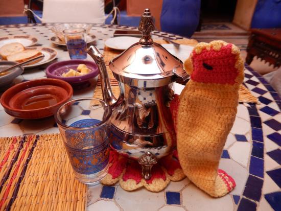 Riad Basma: desayuno completo