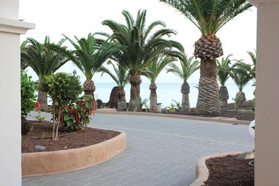 Sotavento Beach Club : Meerblick von der Terrasse
