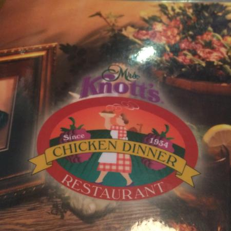 Mrs. Knott's Chicken Dinner Restaurant : I always love coming here!  A classic!